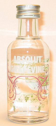 Absolut Grapevine Vodka