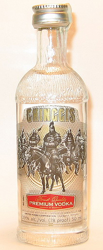 Chinggis Vodka 1