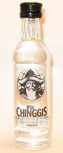 Chinggis Vodka 2