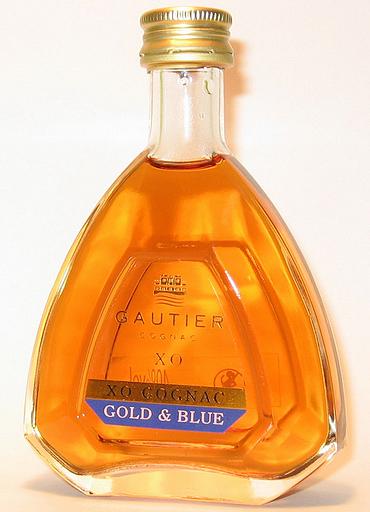 Gautier XO Gold & Blue Cognac
