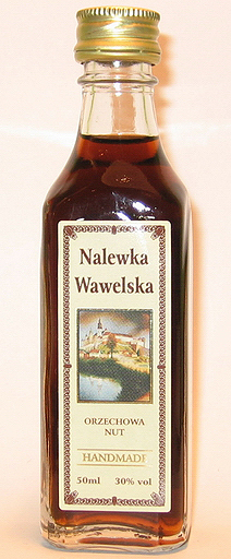 Nalewka Wawelska Orzechowa