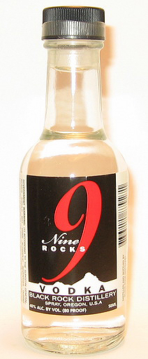 Nine Rocks Vodka