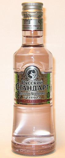 Rusky Standard Platinium Vodka