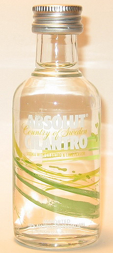 Absolut Cilantro Vodka