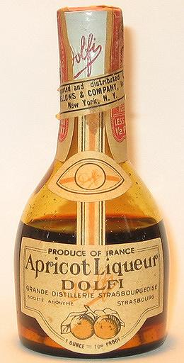 Dolfi Apricot Liqueur
