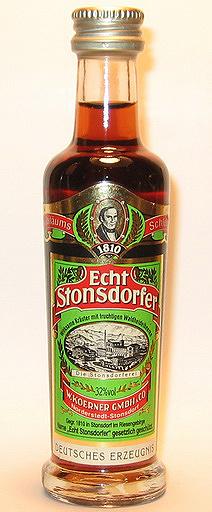 Echt Stonsdorfer Liqueur