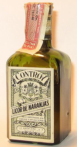 La Madrilena Licor de Naranjas Liqueur