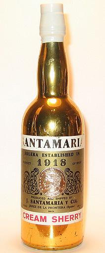 Santa Maria Cream Sherry