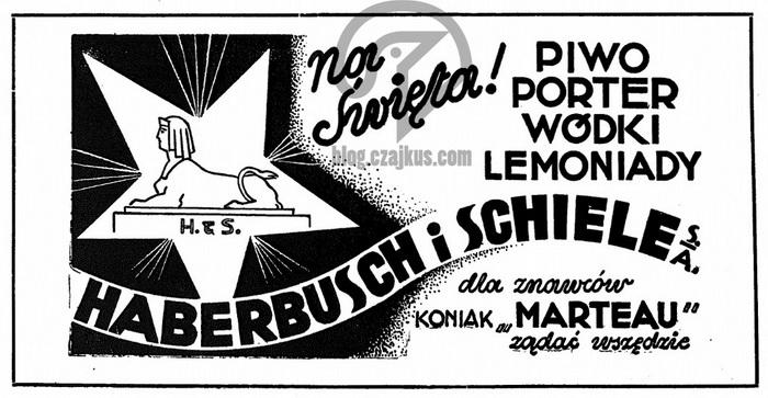 Haberbusch iSchiele, Warszawa - 1933 700