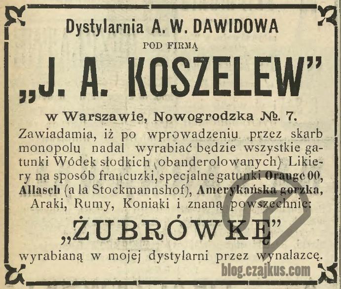Koszelew 1898 1