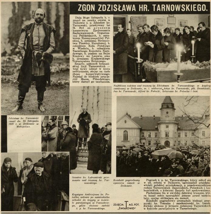 Tarnowski Zgon - 1937 Światowid nr49