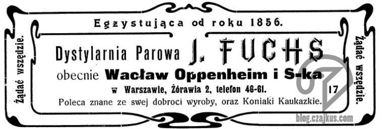 1909 - Oppenheim iSk-a W