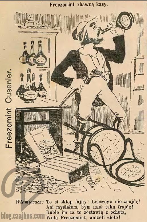 1913 - Cusnier Freezomint W