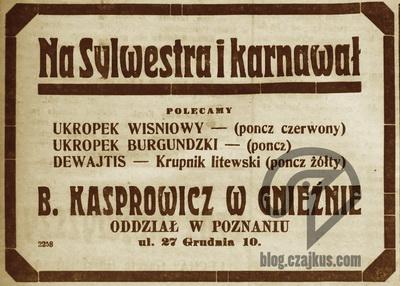 1921 Kasprowicz Krupnik Litewski W