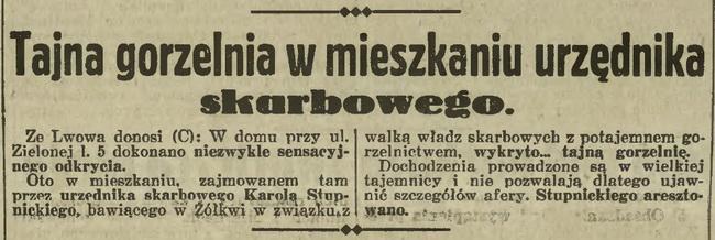 1932 - gorzelnia urzędnika skarbowego ok 1