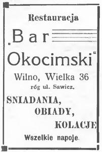 1933 Bar Okocimski