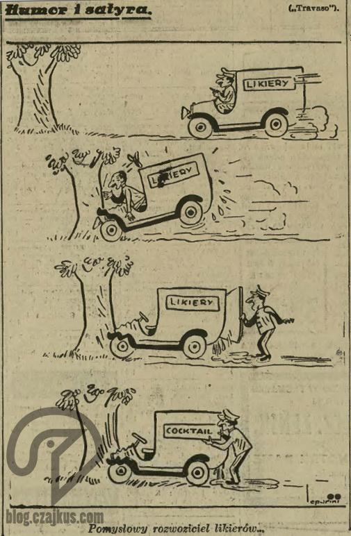 1935 Cocktail, Drink, obrazek, czajkus