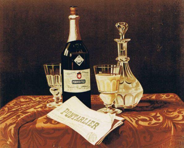 Absinthe - Pernod 1898
