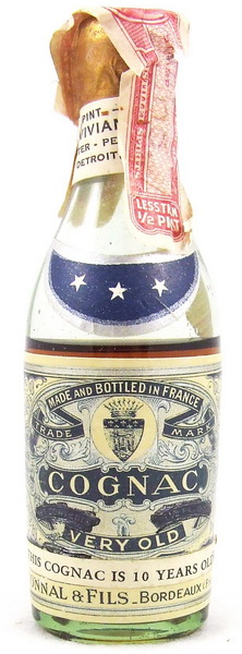 Bonnal & Flis 10YO Cognac 1934