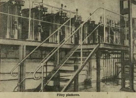 Fabryka wódek Kraków Filtry piaskowe