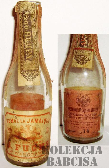 Fuchs J. Dystylarnia Rum de la Jamaique Babcis