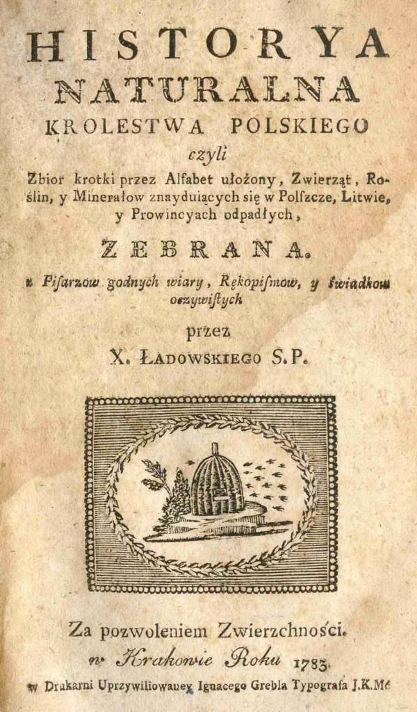 Gorzałka Historya naturalna Ładowski