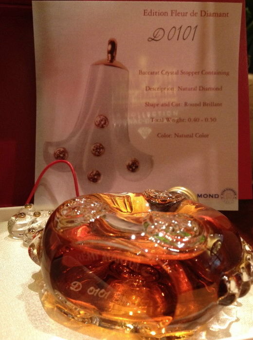 Remy Martin Louis XIII Fleur de Diamant necklace  3