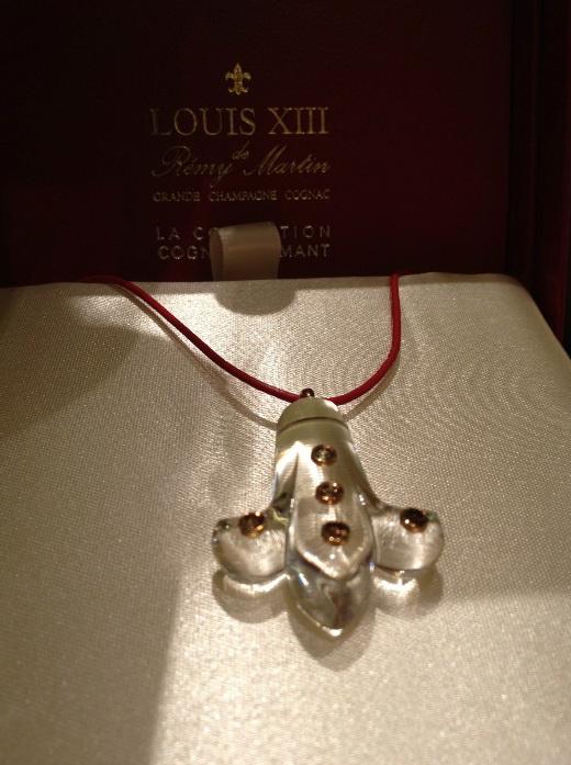 Remy Martin Louis XIII Fleur de Diamant necklace 6