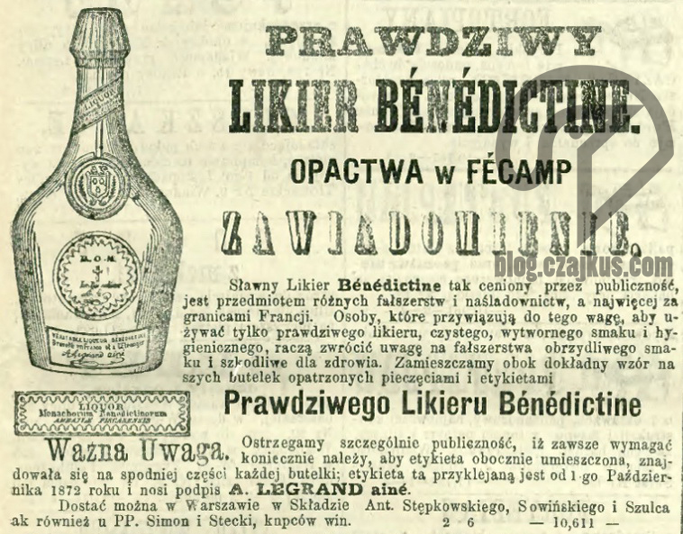 1873 - Benedyktynka2