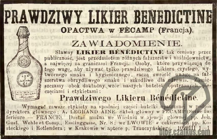 1875 - Benedyktynka