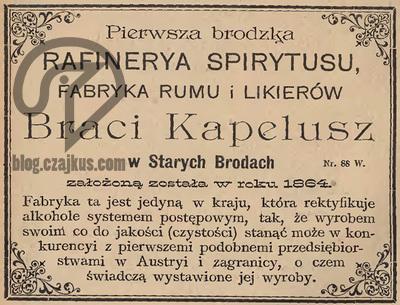 1894 - Kapelusz Bracia, Brody