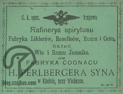 1894 - Perlberger H., Klasno