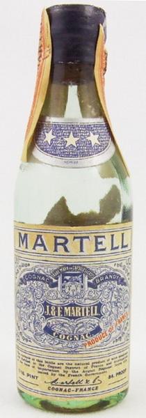 Martell 3 Stars 1940's