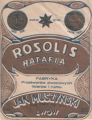 Muszyński Jan, Lwów - Rosolis W300
