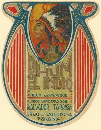 1920 Rhum old El Indio