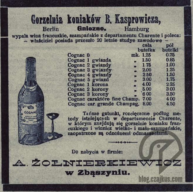 Kasprowicz Bolesław, Gniezno - 1908W
