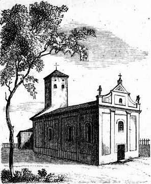 Żodziszki Kościół