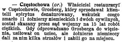 1914 Denaturat Częstochowa