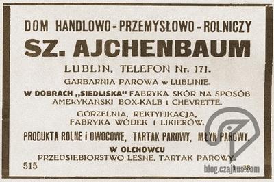 1925 Siedliska Sz.AjchenbaumW400
