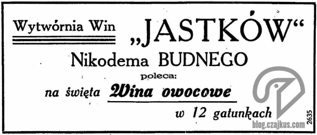 1931 Jastków Wytwórnia WinW