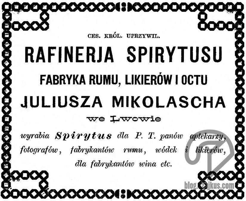 Mikolasch Juliusz, Lwów - 1877 Katalog Wystawy WeLwowie