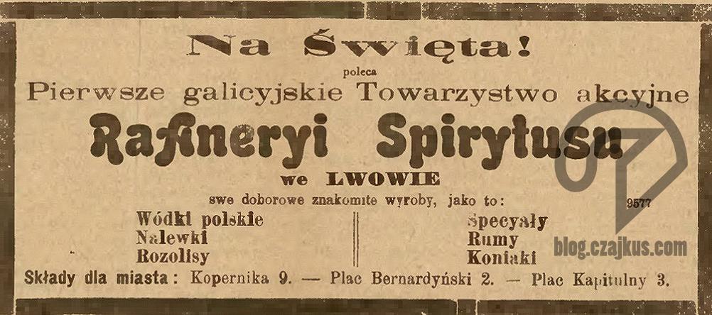 Mikolasch Juliusz, Lwów - 1903