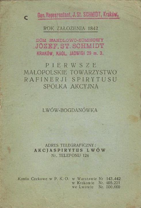 Mikolasch Juliusz, Lwów - 1934 Katalog 1