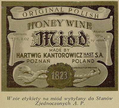 Miód Pitny Kantorowicz2 USAW 400