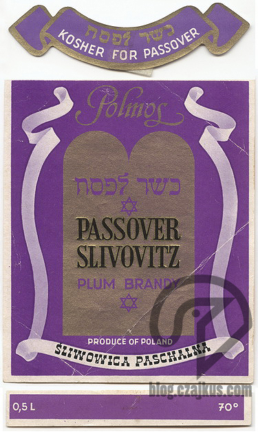 PassoverSlivovitz 375W