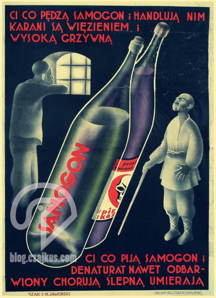 Plakat Samogon Denaturat3W ok3