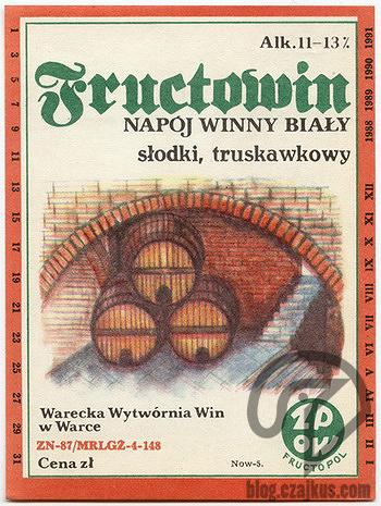 Wino Fructowin Warka 350