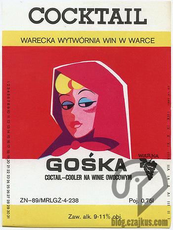 Wino Gośka Warka 350