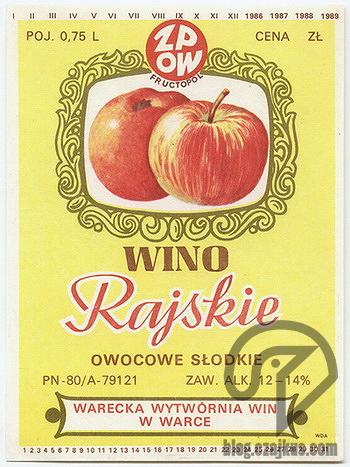 Wino Rajskie Warka 350