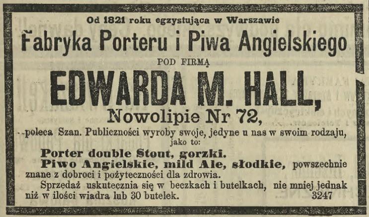 1885 - Hall Porter